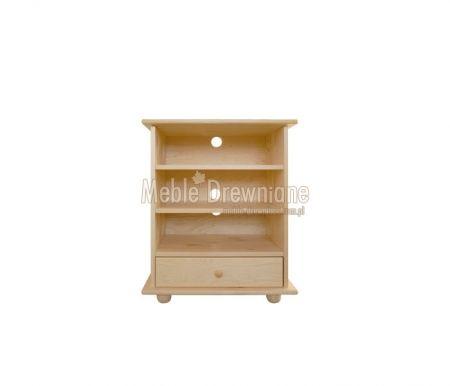 Szafka RTV drewniana sosnowa [63] Meble Drewniane - meble sosnowe producent, łóżka, komody, witryny