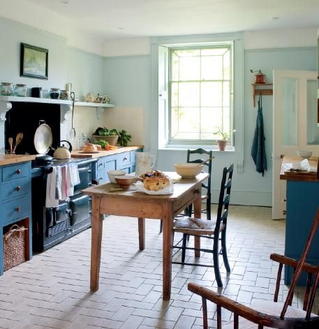 Three Words That Describe The Feeling Of A Cottage Style Kitchen Perfectly.
