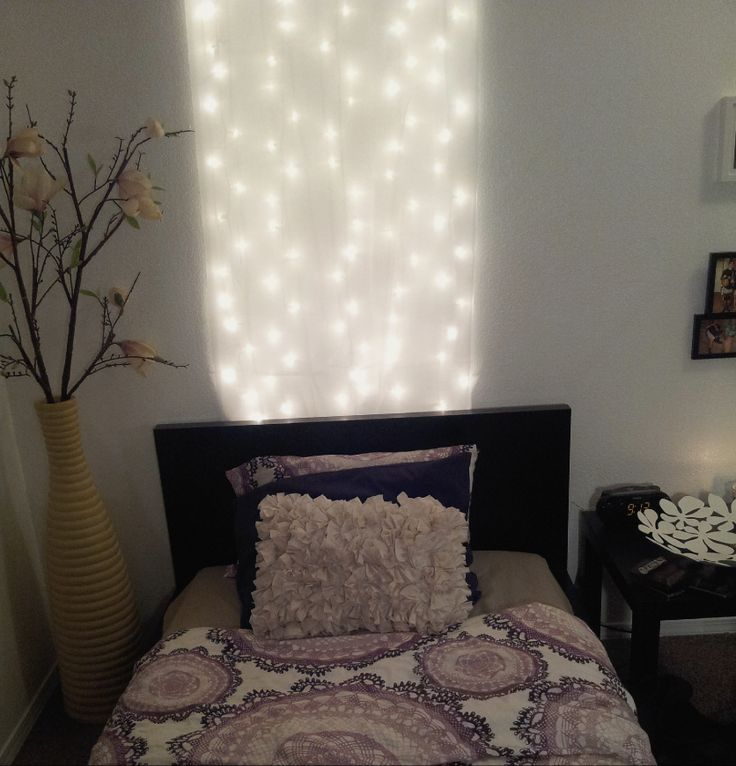 indoor christmas lights for bedroom walmart. 1 pack of white christmas lights and sheer curtains from walmart indoor for bedroom a