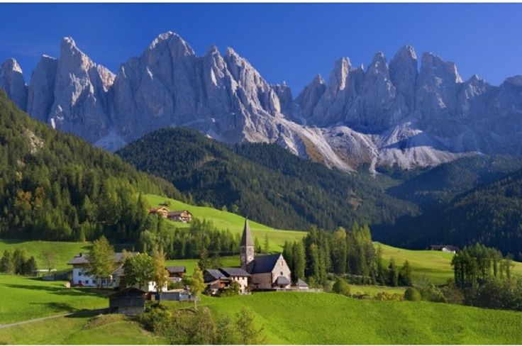 St Magdalena South Tyrol 1000 Piece Puzzle