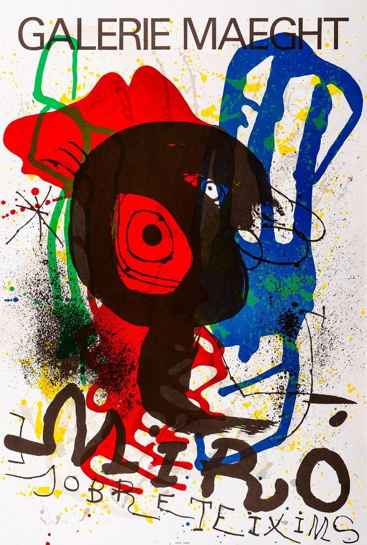 Joan Miró, Sobreteixims  #litography #art #artmarket #limitededition #artistoftheday #fineart #buyart #miro #surrealism #dada