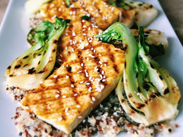 Grilled tofu steaks with orange ginger glaze – plantbasedartist
