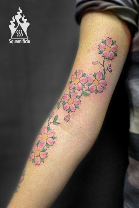 Blossom ciliegio tattoo