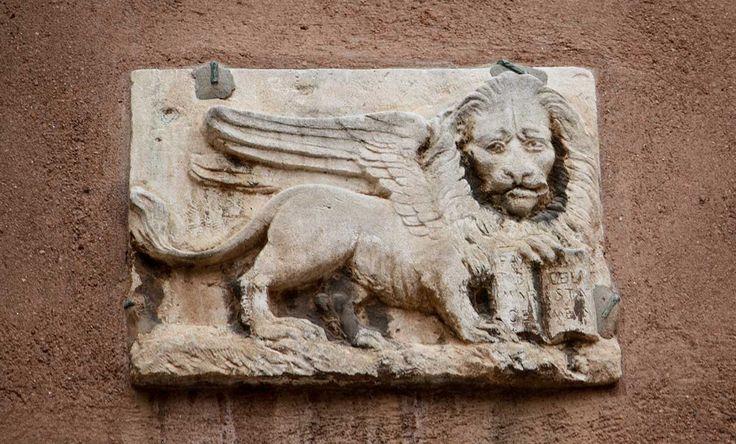 León de San Marcos en Venecia.