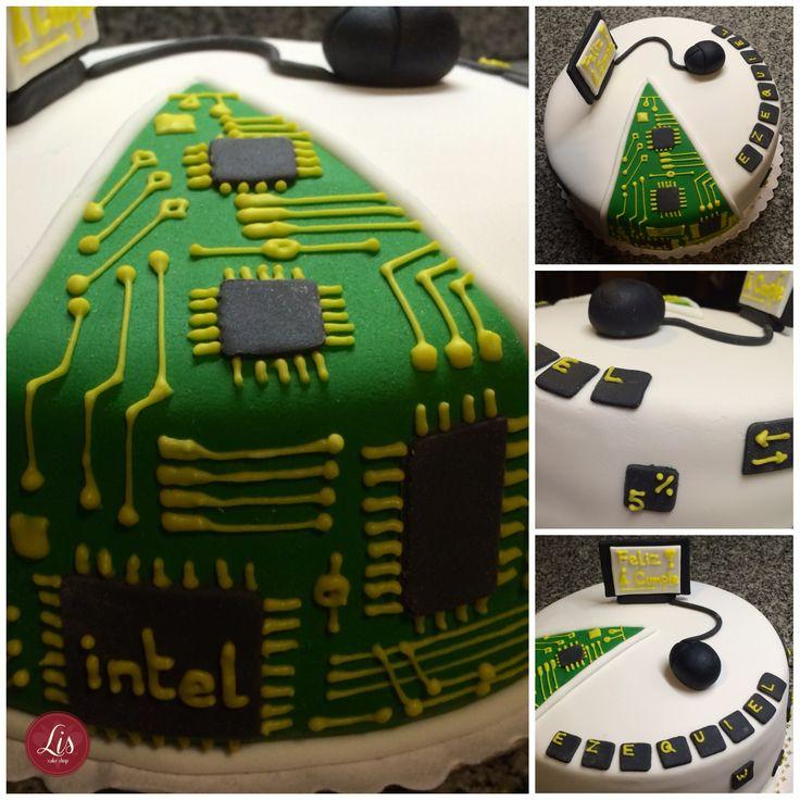 Computer cake IT