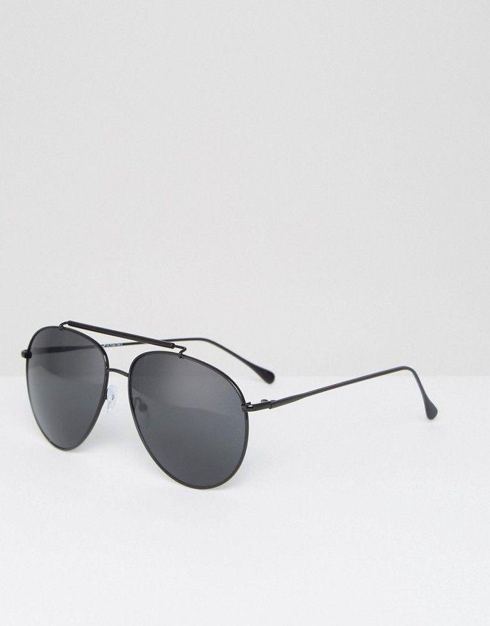 cac3b5070fd AJ Morgan – Schwarze Pilotensonnenbrille