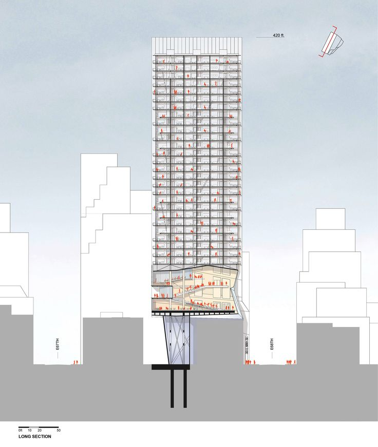 Gallery - Proposal for New York Skyscraper Cantilevers Lobby Over Its Neighbors - 7