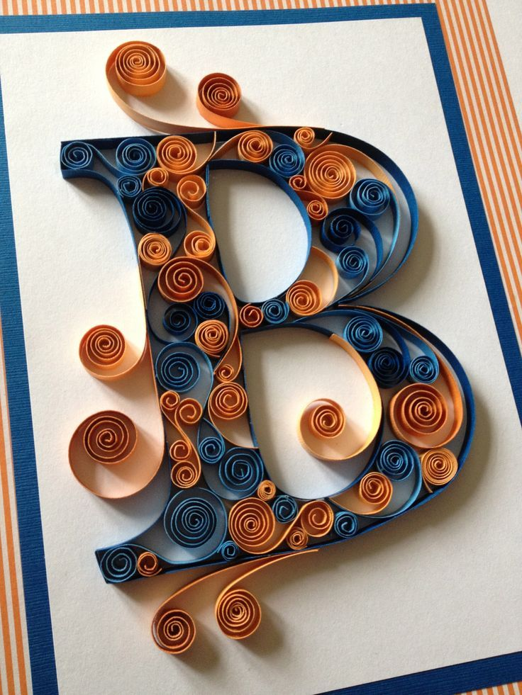 230 best quilling letters numbers words images on for Quilling paper craft