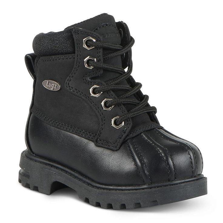 Lugz Mallard Toddlers' Duck Boots, Kids Unisex, Size: 10 T, Black