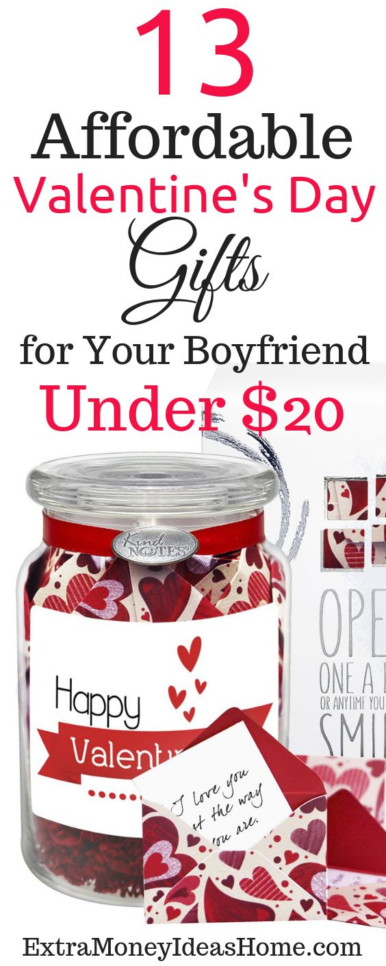 13 Affordable Valentine's Day Gifts for Your Boyfriend (Under $20 Price)