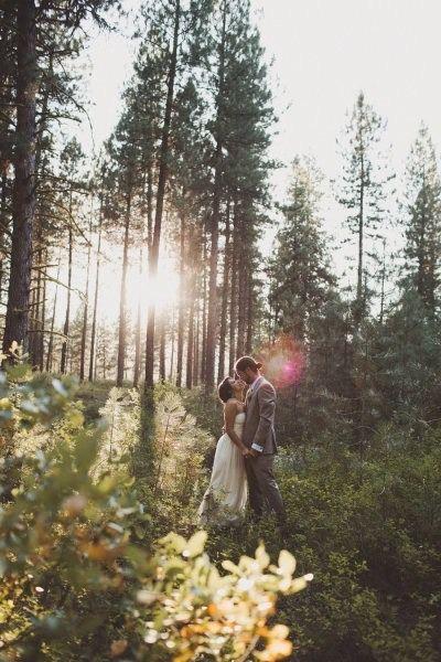 Outdoor Wedding |  #woodland #wedding #inspiration
