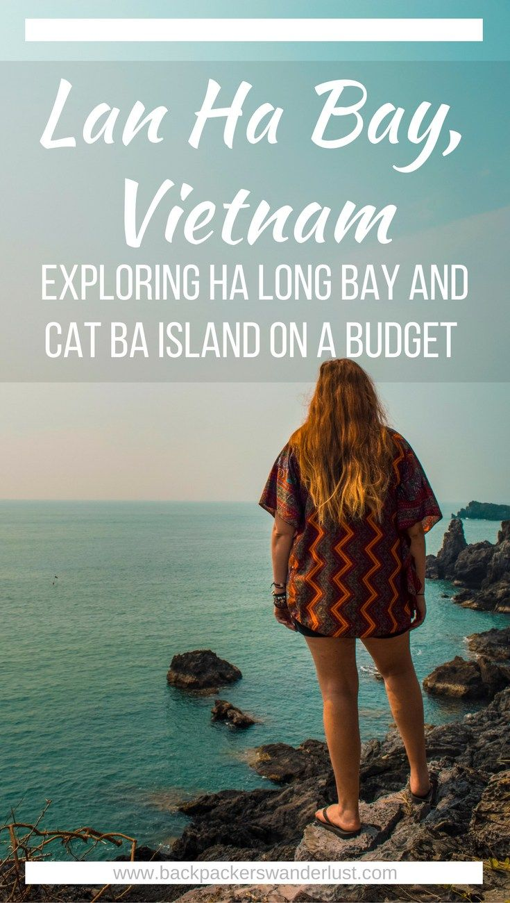 Discover Lan Ha Bay | Cheap Ha Long Bay Cruise | Cat Ba Island | Adventure | Backpack South East Asia | Travel | Backpacking | Must Visit | Do Not Miss | Vietnam | Ha Long Bay Cruise | Cat Ba Island | Cat Ong Island | Ocean Tours | Adventure | Photography | Backpackers Wanderlust | #vietnam #halongbay #cocktailcruise #hanoi #budgetcruisehalongbay #backpacksoutheastasia #catbaisland #catongisland