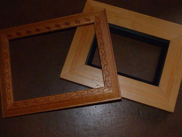 15 pines de marcos de fotos con efecto envejecido que no - Pintura efecto envejecido ...