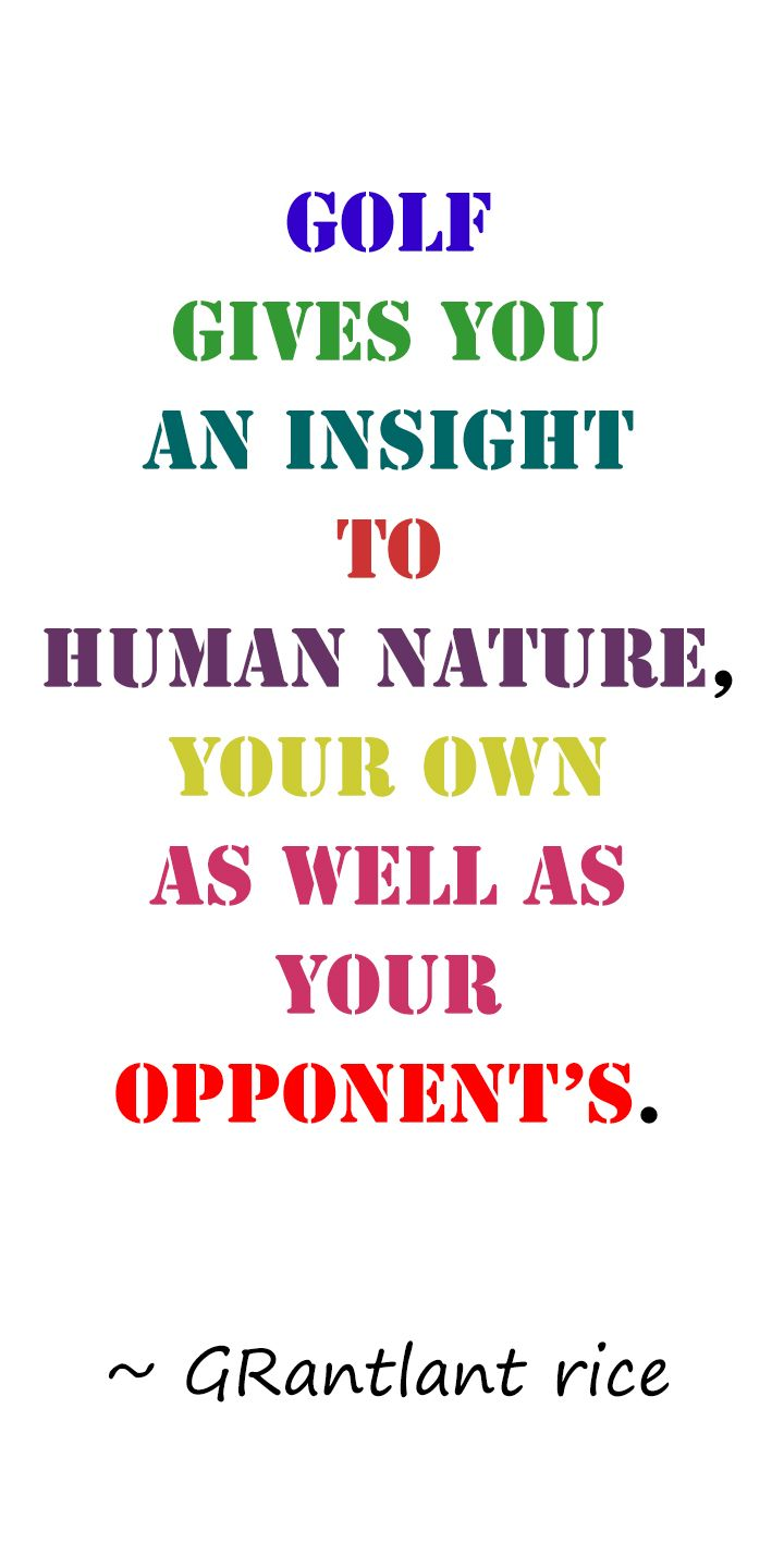 Golf And Life Quotes 116 Best Golf Quotes Images On Pinterest  Golf Tips Golf Humor