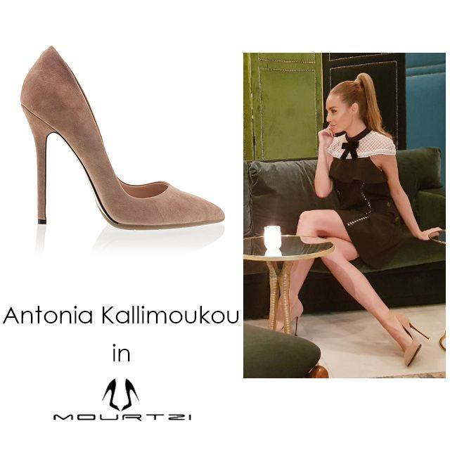 ΑΝΤΩΝΙΑ ΚΑΛΛΙΜΟΥΚΟΥ Antonia Kallimoukou in Mourtzi #Mourtzi #kallimoukaki #nudepumps