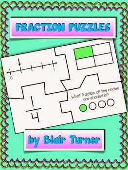 Learning Lab Resources: Fraction Puzzles - Product Swap and Giveaway!
