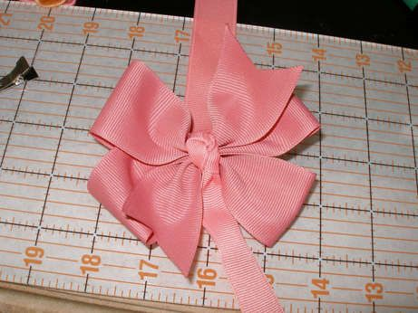 Free Pinwheel Hair Bow Instructions: hairbow free directions, hair bow business work at home