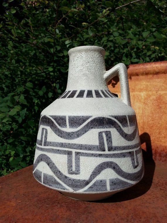 Ilkra Edel Keramik Vintage Ceramic Handled West Germany