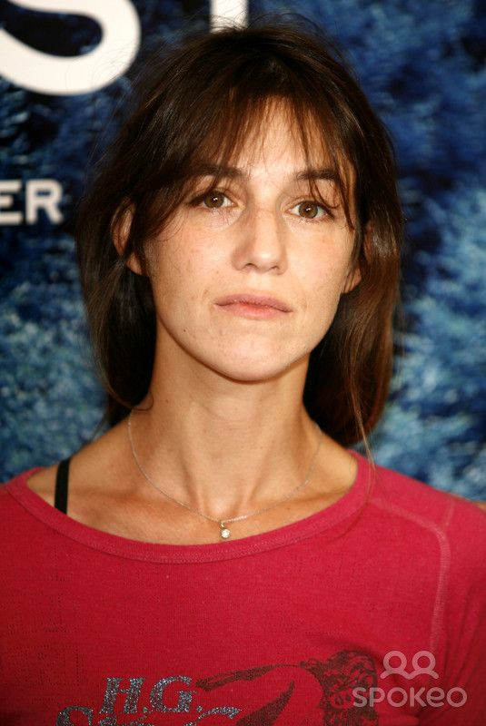 """Charlotte Gainsbourg at a photocall for the movie """"Anti Christ"""" which is currently beeing filmed in Germany"""