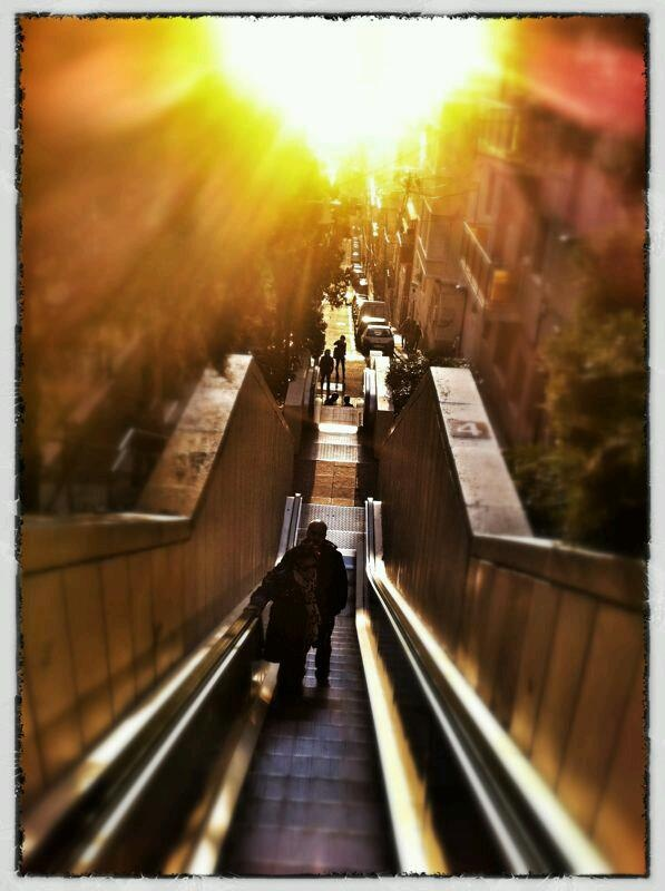 Stairway to heaven is Barcelona