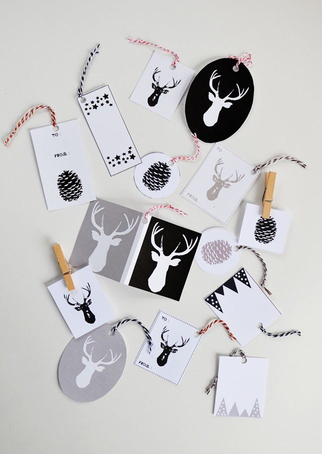 Print | Holiday Gift Tags |