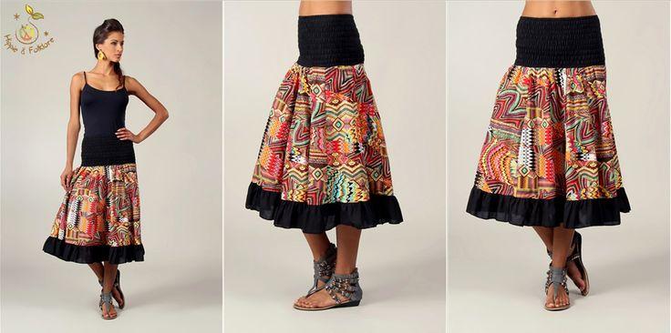 ॐ Fusta vara cu print afro   www.hainehippie.ro/55-noutati?&p=3  Transport gratis la 2 haine si genţi  www.facebook.com/hainehippie