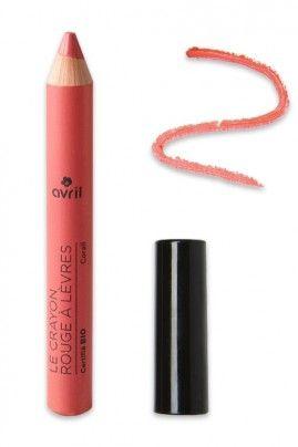 Crayon Jumbo Rouge à lèvres Bio - Avril : Avril - Crayon Rouge à lèvres - Corail