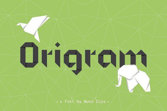 Origram Pro Typefamily + Free Bonus by NunoDias on @creativemarket