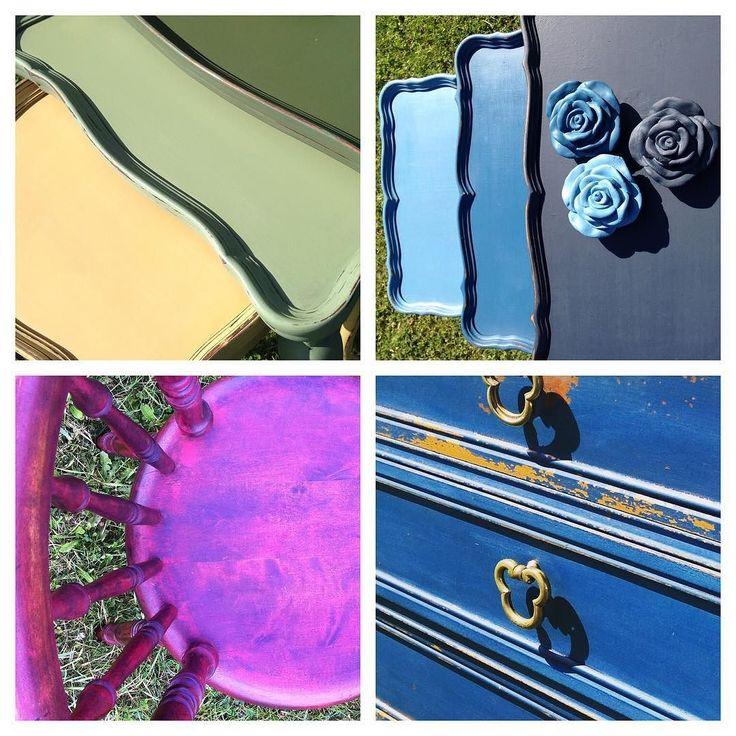 #mmsmilkpaint #skattkammarbutiken #bord #stol #byrå #målaom #målarglädje #färg #heminredning #vintage #lantligt #återbruk #passion
