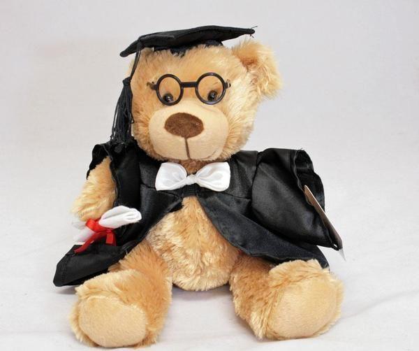 Graduation teddy Bear with glasses