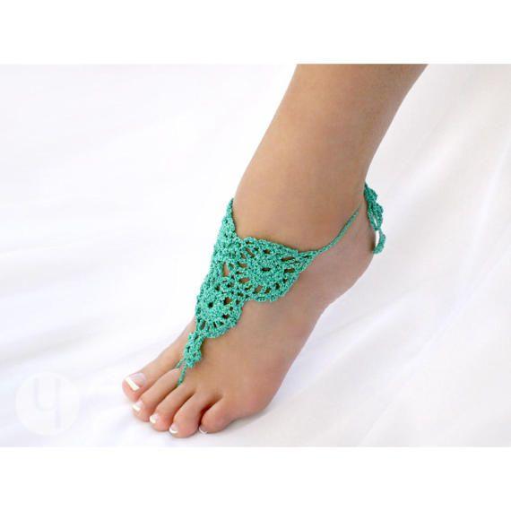 Margarita Crochet sandalias Descalzas 100% hecho a mano. 3