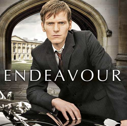 Shaun Evans, Endeavor.  Interesting series about Inspector Morse just starting his career.