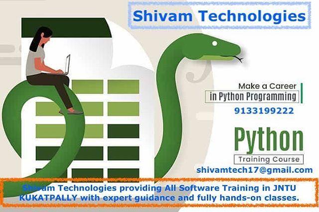 Shivam Technologies Shivamtechnologies In 2020 Training Courses Technology Python Programming