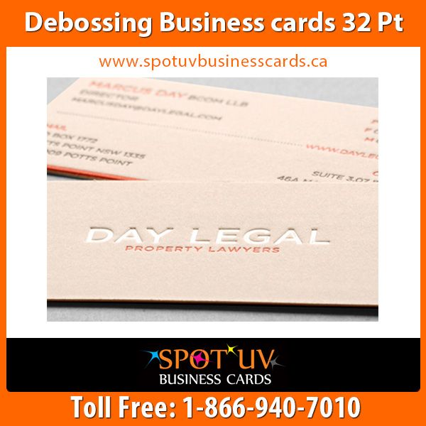 10 best luxury business cards images on pinterest luxury business debossed is a blend of vector design custom dies and pressed cotton cards without the use of ink the copper die strikes the cotton card leaving a deep colourmoves