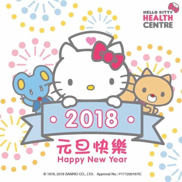 Happy New Year 2018! Agenda PlannerSanrioHealth ...