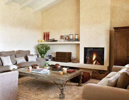 69 best chimeneas images on pinterest - Ideas decorar salon ...