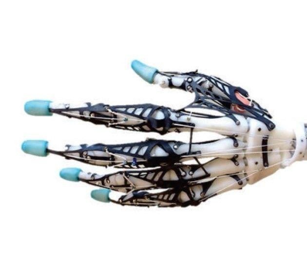 Une main robotique parfaite