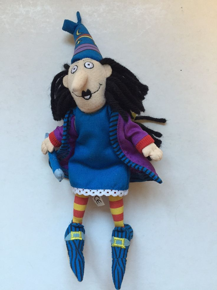 winnie the witch plush toy licensed characters