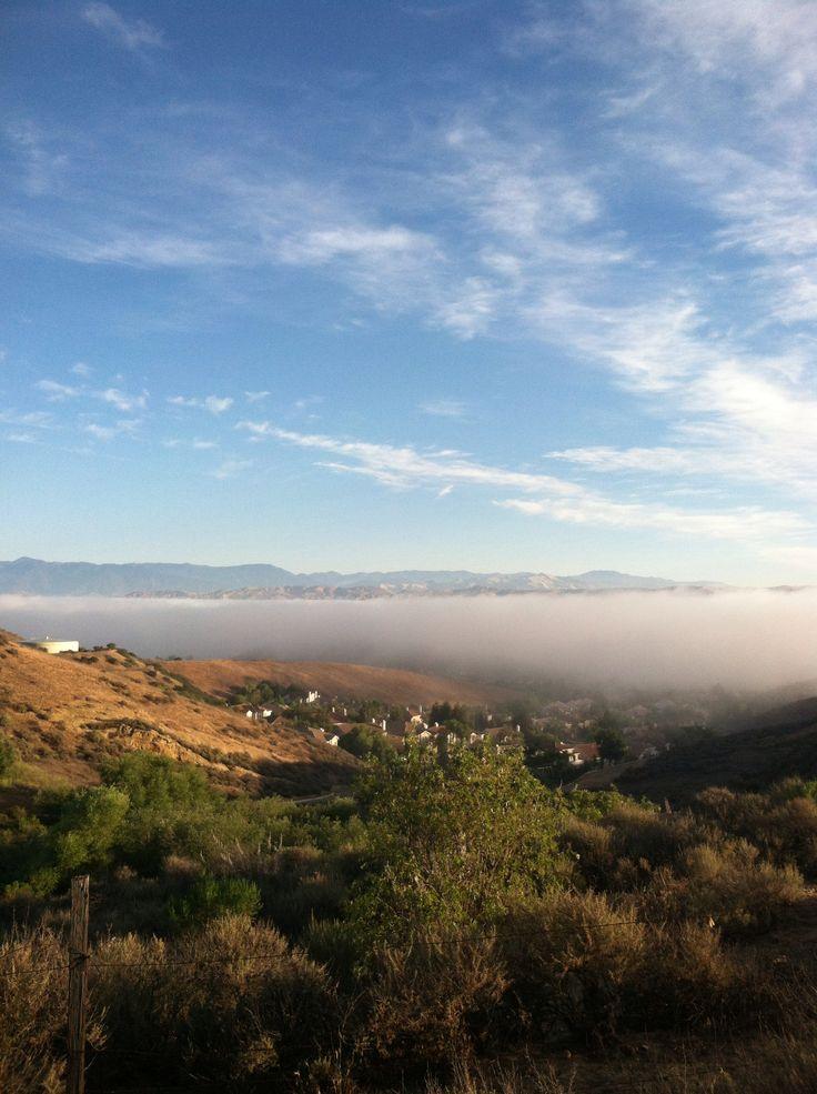 Overlooking Simi Valley
