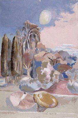 """November Moon"" Paul Nash"