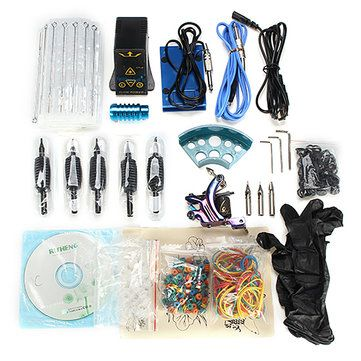 Decoration Firing Gun EP-2 Power Supply Professional Tattoo Machine Kit