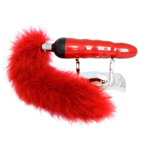 Shiri Zinn Minx Vibrator Stunning Designer Vibe: Escalating Vibration & Sensual Tail | Sh!