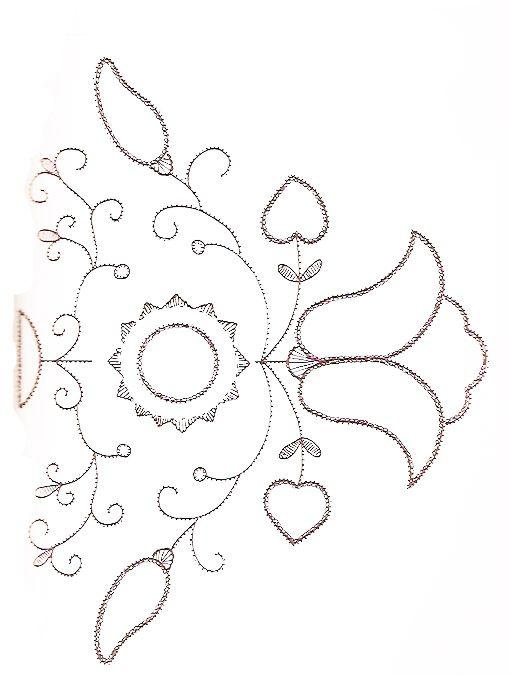 schwalm, швальмская вышивка, схема