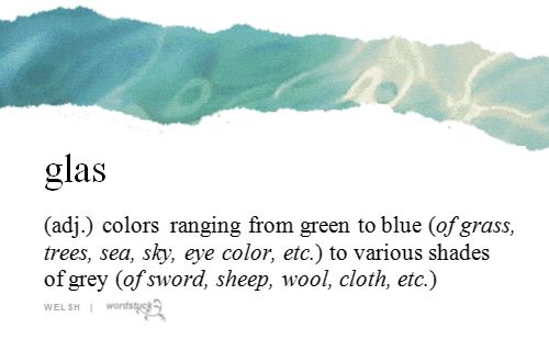 Many languages do not differentiate between certain colors on the visible spectrum and do not have separate terms for blue and green.