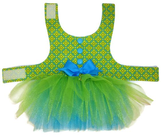 ON SALE Tutu Dog Dress Pattern 1701  XXSmall & by SofiandFriends