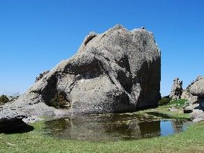 Lagunilla de El Yelmdo en La Pedriza (Manzanares El Real, Madrid)