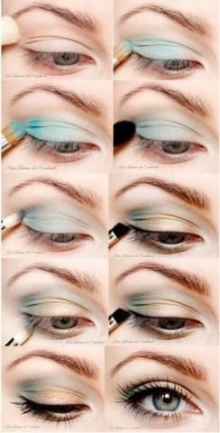 Great mix of colors. How to eye makeup