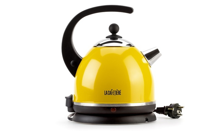 Electric Kettle Yellow By La Cafeti Re Monoqi In The