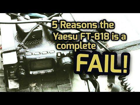 Yaesu FT-818 Review - YouTube   Amateur Radio   Ham radio