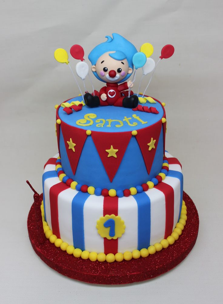 Payaso Plim Plim Cake